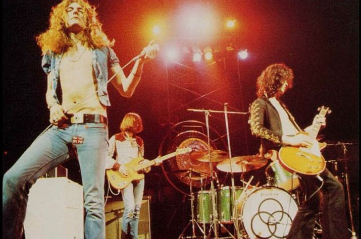 Led Zeppelin The Song Remains The Same The Clinton Street Theater
