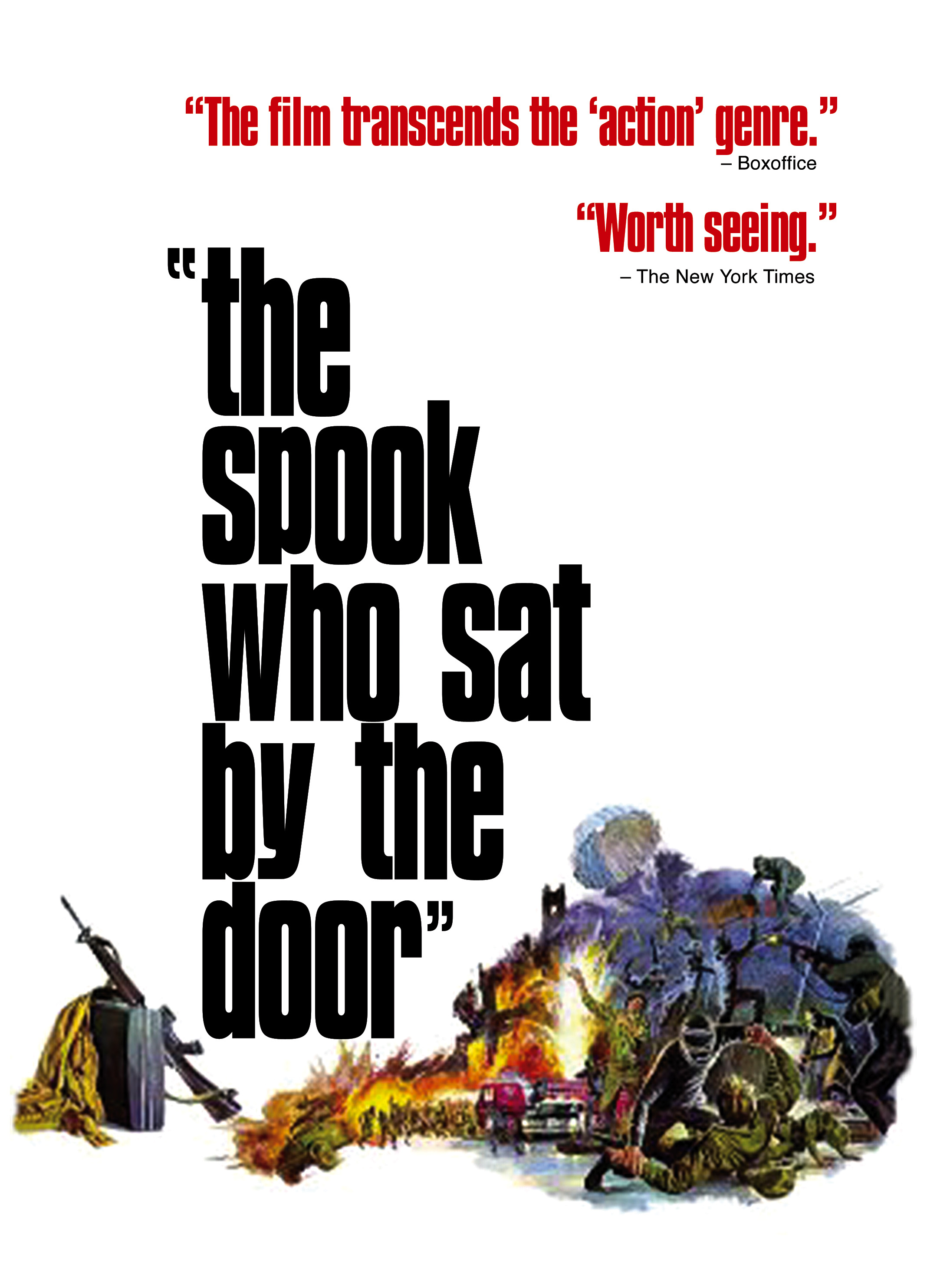 the spook who sat by the door essay The making of the spook who sat by the door sam greenlee the idea that eventually produced my first novel, the spook who sat by the door, first occurred during a visit to chicago from my home at the time on the island of mykonos in 1965.