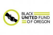 black united fund of oregon logo
