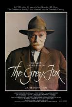 the grey fox movie poster