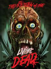 the return of the living dead movie poster