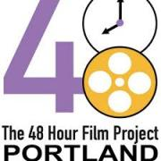 48 hour film project portland logo