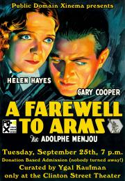 A Farewell to Arms CST Poster