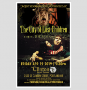 city of lost children event poster