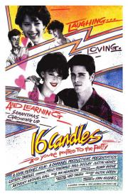 16 candles movie poster