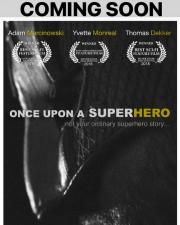 ONCE UPON A SUPERHERO VERTICAL POSTER