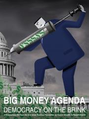 big money agenda poster