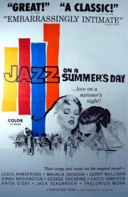 jazz on a summer's day poster