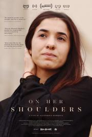 on her shoulders poster