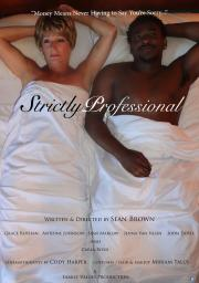 strictly professional movie poster
