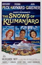 the snows of kilimanjaro movie poster