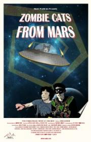 zombie cats from mars poster