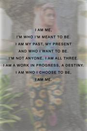 who I am meant to be